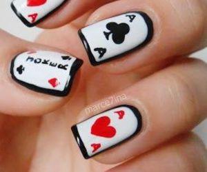 nails, nail art, and joker image