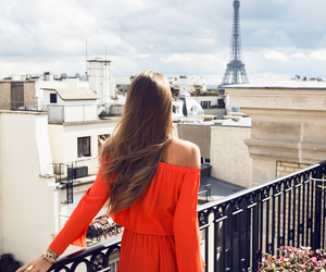 paris, eiffel tower, and fashion image