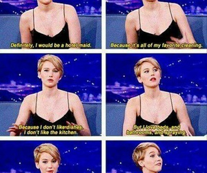 funny, Jennifer Lawrence, and lol image