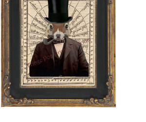 animal, etsy, and victorian image
