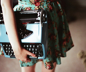 girl, dress, and vintage image