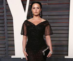 beautiful, red carpet, and black dress image