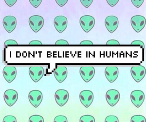 alien, wallpaper, and humans image