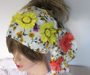 etsy, hair accessories, and hippie headband image