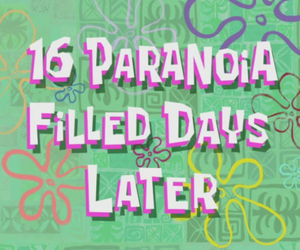 paranoia, spongebob, and quotes image