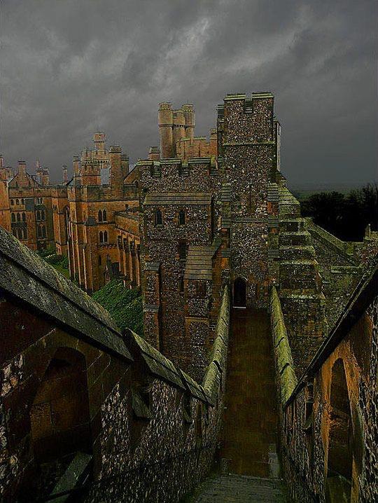 castle, medieval, and arundel castle image
