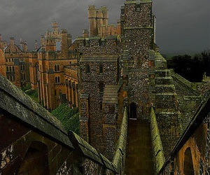castle, medieval, and arundel castle image