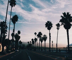 sky, summer, and california image