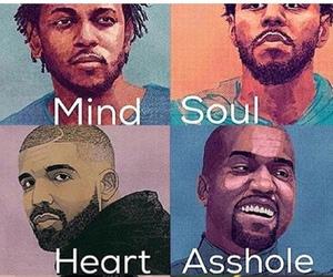 Drake, kanye west, and j cole image