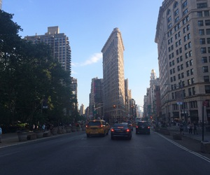 cab, city, and new york image