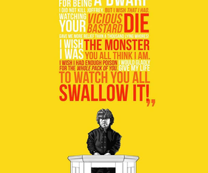 quote, game of thrones, and tyrion lannister image