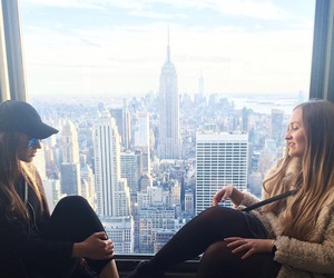 city, family, and manhattan image