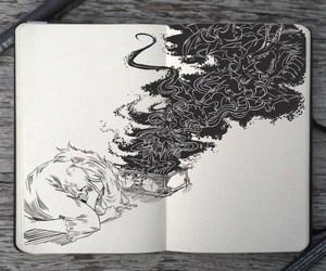 art, drawing, and gabriel picolo image