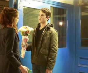 analeigh tipton, miles teller, and two night stand image