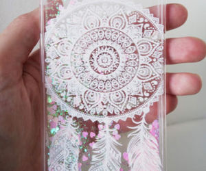 case, glitter, and cell phone accessories image