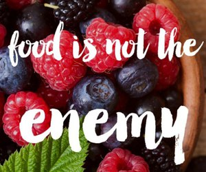 quote and berries image