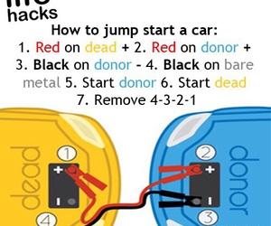 car and jump start image