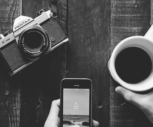 coffee and photo image