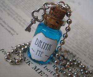 alice in wonderland, drink me, and cute image