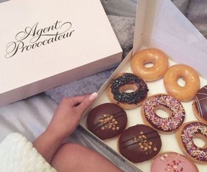 food, donuts, and agent provocateur image
