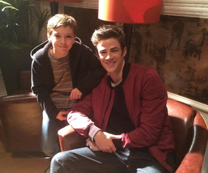 grant gustin and 😟 image