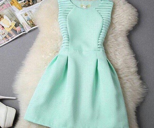 dress, clothes, and green image