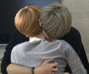 cute couple, exo, and gay image