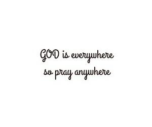 god, grateful, and pray image