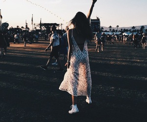 fashion, festival, and music image