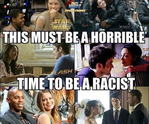 arrow, daredevil, and racism image