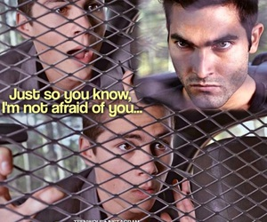 afraid, teen wolf, and stilinski image