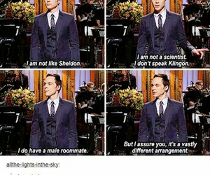 jim parsons, funny, and tumblr image
