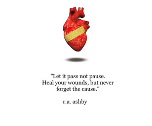 heart, move on, and past image