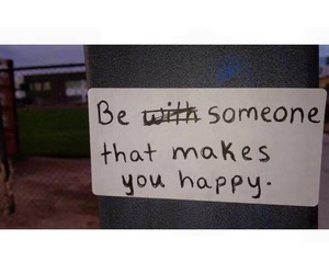 happy, quote, and be image