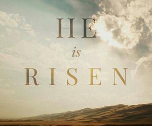 jesus, peace, and risen image