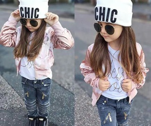 chic, fashion, and kids image