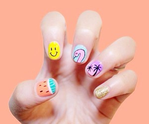 nails, fashion, and sweet image