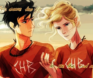 percy jackson, percabeth, and art image