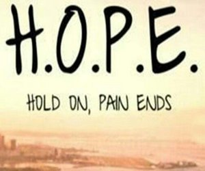 hope, pain, and quotes image