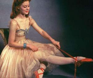 ballet, red, and the red shoes image