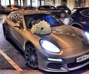 cars and flowers image