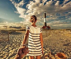 beach, murad osmann, and couple image