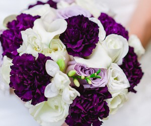 colours, flowers, and wedding image