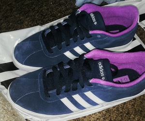 adidas, lilac, and shoes image