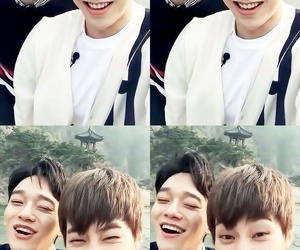 Chen, cute couple, and yaoi image