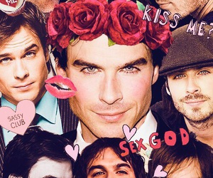 ian somerhalder, Collage, and tvd image