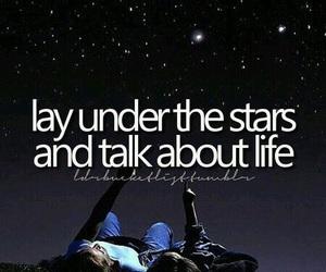 stars, life, and bucket list image