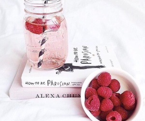 book, pink, and drink image