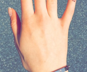 cartier, nails, and rose gold image