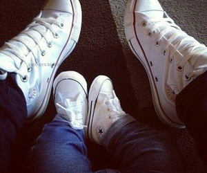 baby, converse, and shoes image